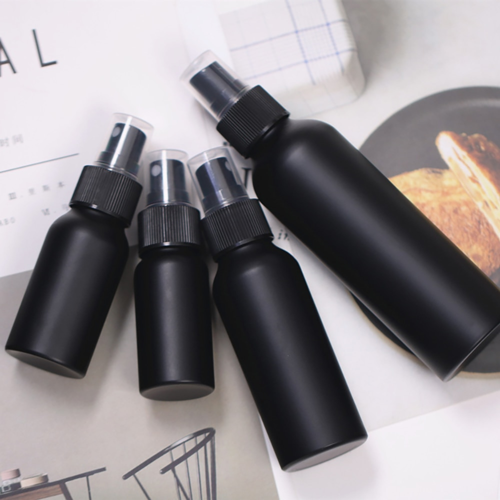 30ml 50ml 100ml 150ml Portable Travel Black Aluminum Empty Bottle Perfume Spray Bottle Cosmetic Packaging Container 30ml 50ml 100ml 150ml portable travel black aluminum empty bottle perfume spray bottle cosmetic packaging container