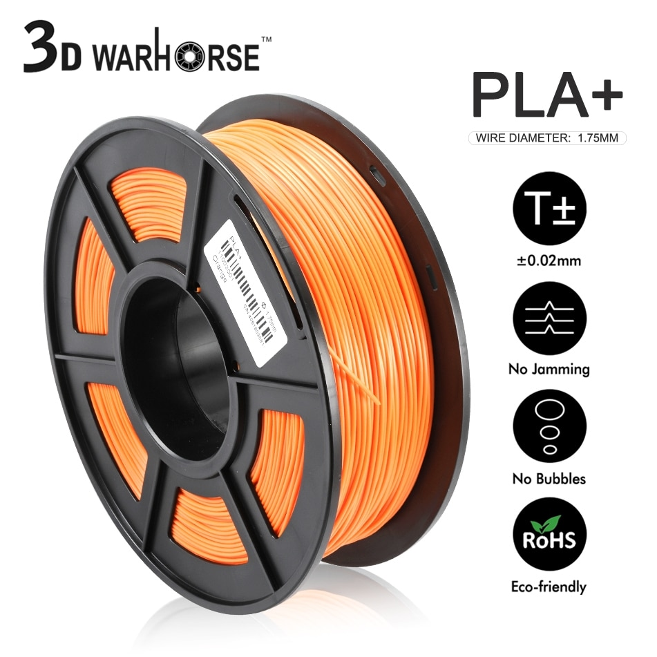 Filamento PLA PLUS para impresora 3D, 1,75mm, 1kg, 3d Color brillante, alta...