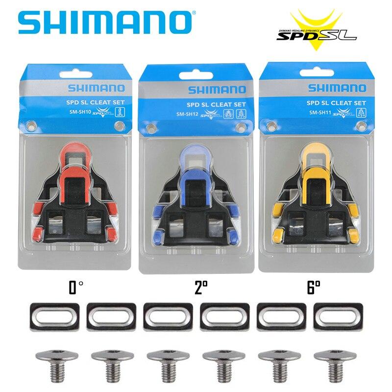 Shimano-abrazadera de Pedal SPD SL para bicicleta de montaña, SM-PD22 de SM-SH45,...