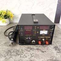saike 909d 3 in 1 hot air gun rework station soldering station dc power supply 220v or 110v us eu