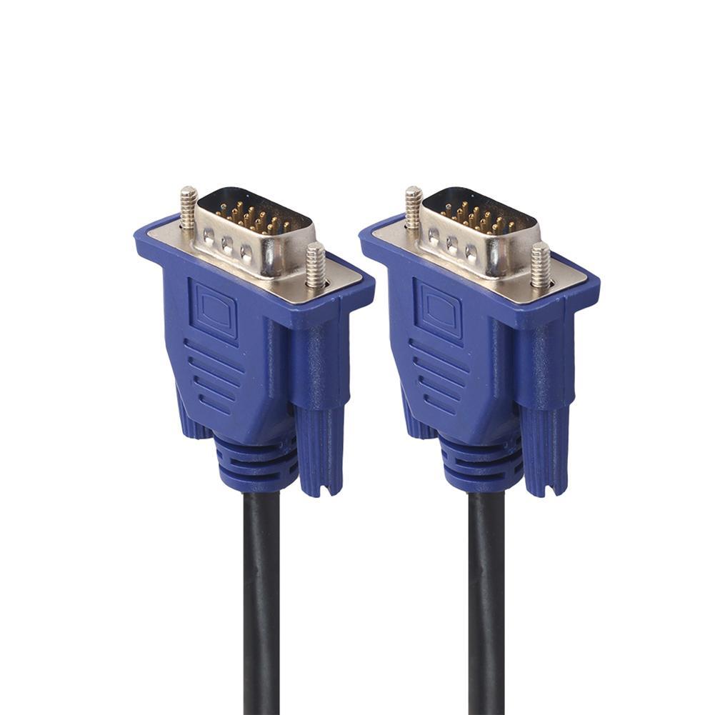 Cable de extensión VGA HD de 15 pines macho a macho, Cable...