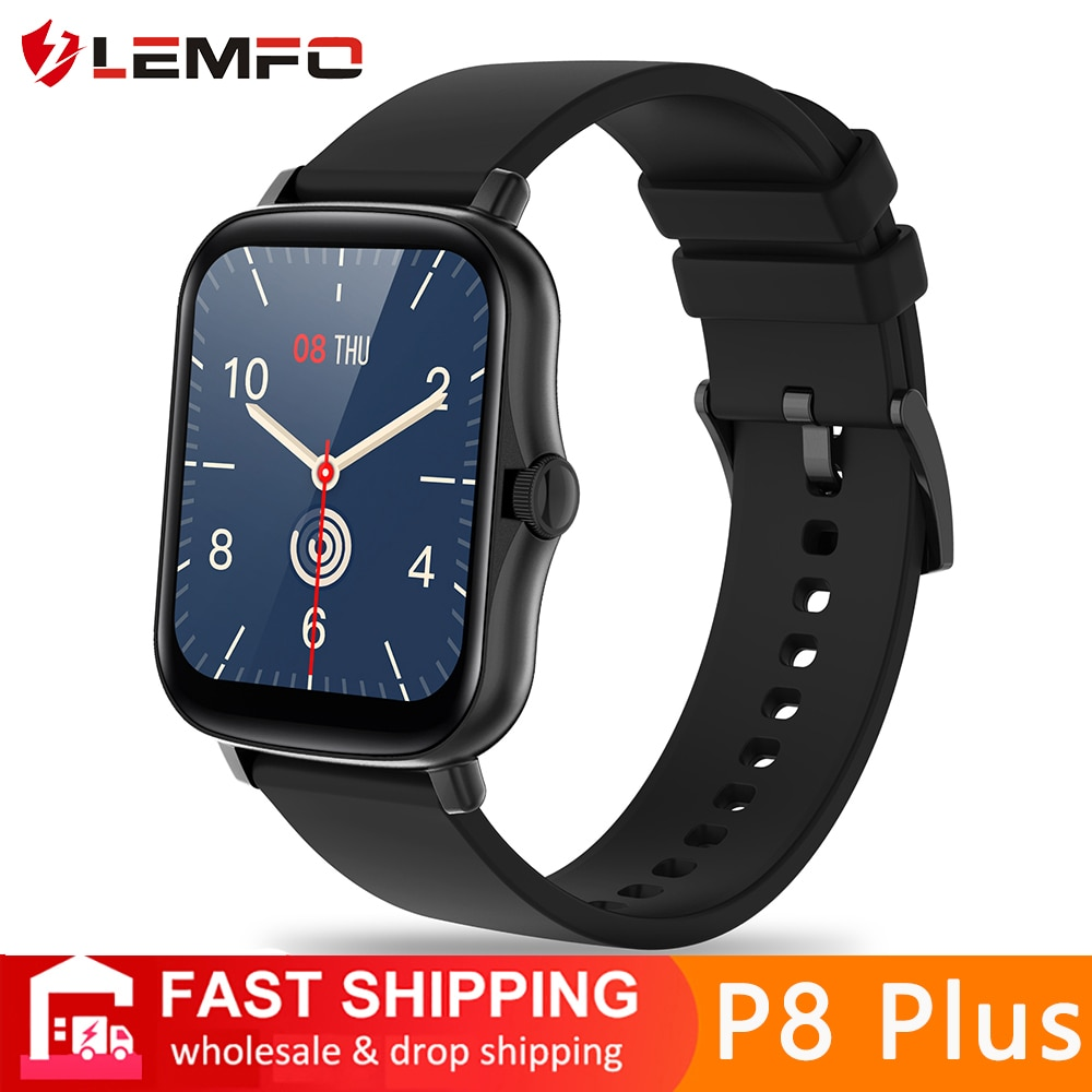 LEMFO Smart Watch Y20 2021 Men Women 1.69 inch Full Touch Screen Fitness Tracker IP67 Waterproof GTS 2 2e Smartwatch pk P8 Plus