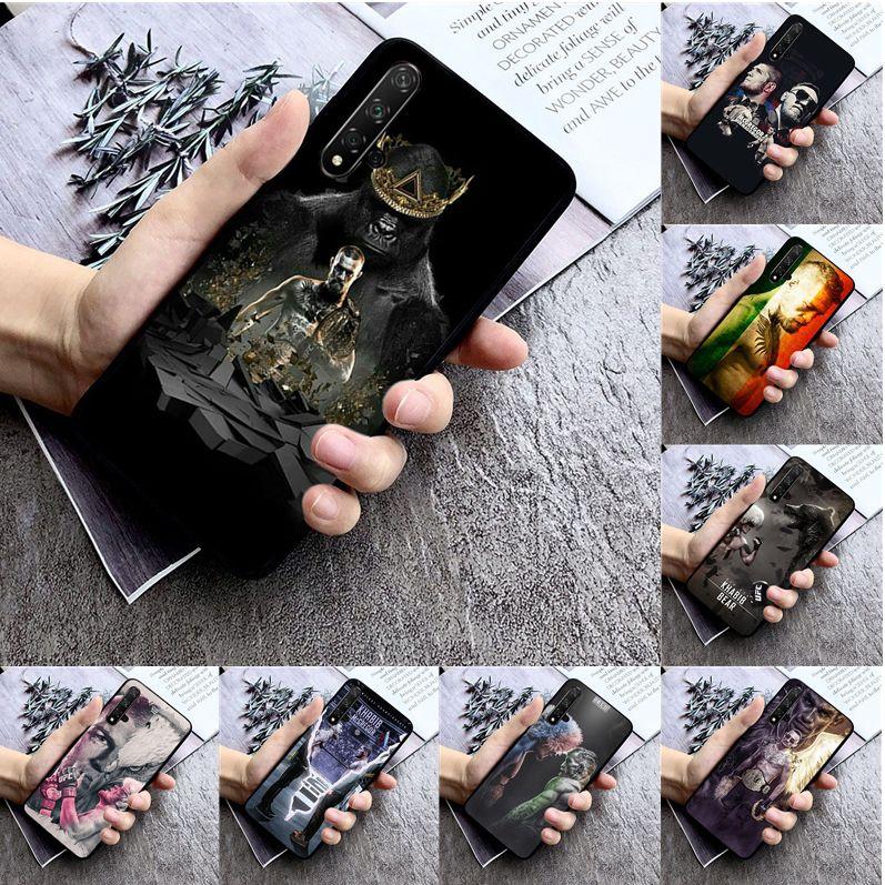 Conor McGregor khabib nurmagomedov High Quality Silicone Phone Case for huawei nova 2 2i 2plus 2s 3i 3e 4 4e 5 5i pro case