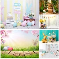 shengyongbao easter eggs rabbit photography backdrops photo studio props spring flowers child photo backdrops 21318fh 36