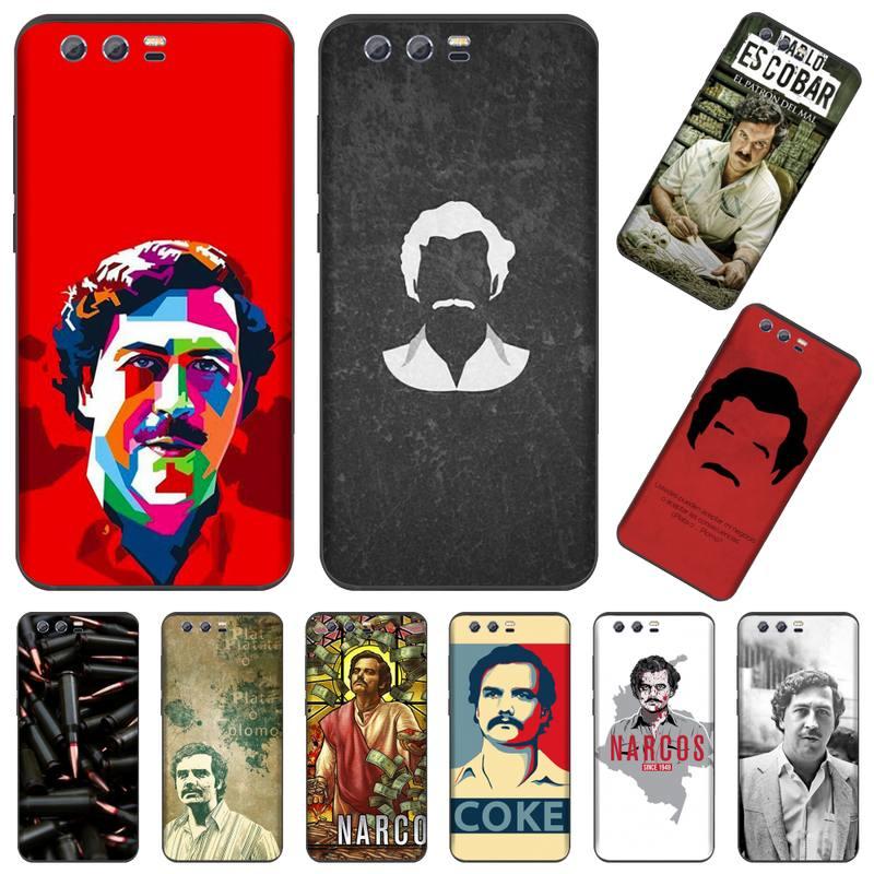 Los Narcos TV serie Pablo escobar funda del teléfono para Huawei Honor ver 7a5.45inch 7c5.7inch 8x 8a 8c 9 9x10 20 10i 20i lite pro