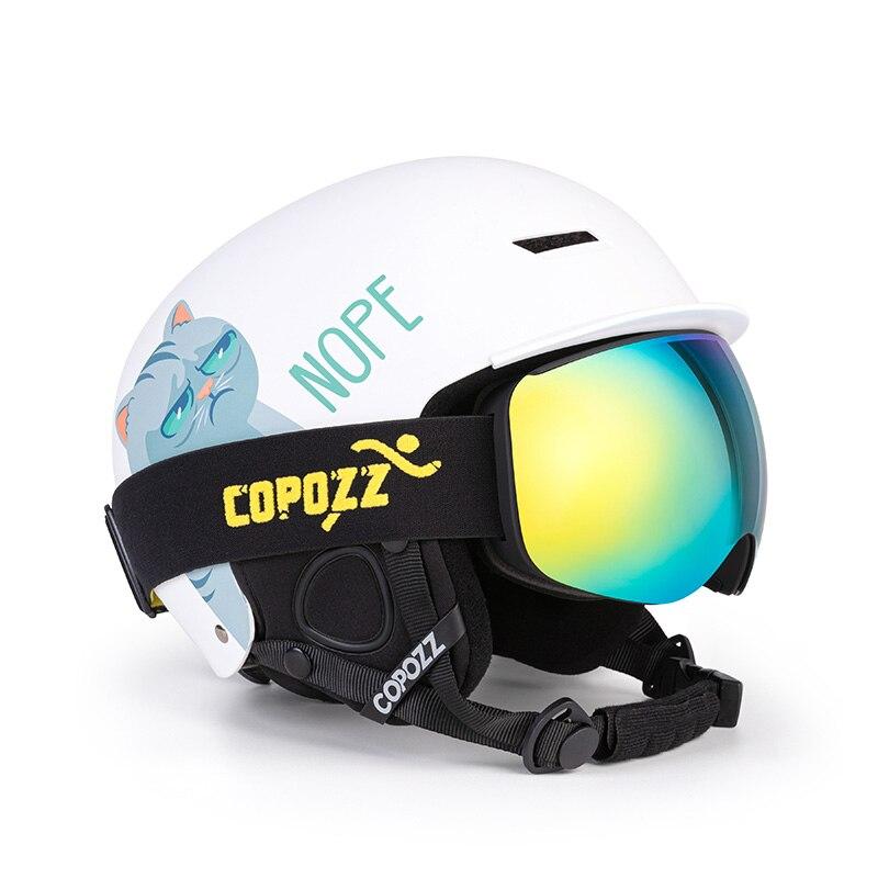 Luxury Adult Ski Goggles Anti-Fog Men Women Skiing Eyewear Outdoor Mountaineering Safety Snow Goggles Sports Glasses Accessories