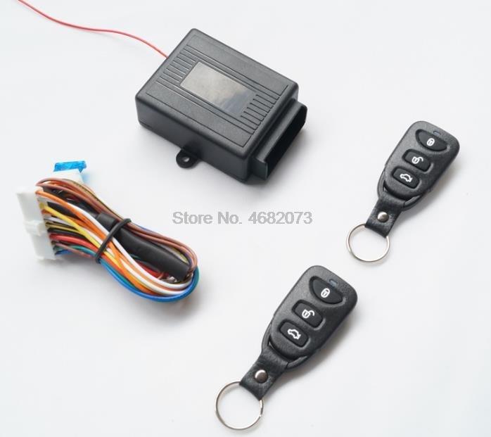 Durch DHL 100 sets Auto Remote Zentrale Kit Türschloss Locking Fahrzeug Keyless Entry System Mit Remote Controller Auto alarm system
