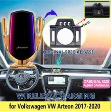 Support de téléphone portable de voiture pour Volkswagen VW Arteon 2017 2018 2019 2020 support de téléphone accessoires de ventilation pour iphone Xiaomi
