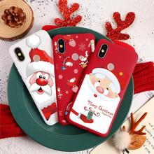 Happy New Year Santa Claus For TPU Xiaomi Redmi Note 8 7 6 5 Pro 7 K20 Pro 7A 6A Mi CC9e 9T Pro 8 9 SE F1 A1 A2 Lite 5X 6X Case