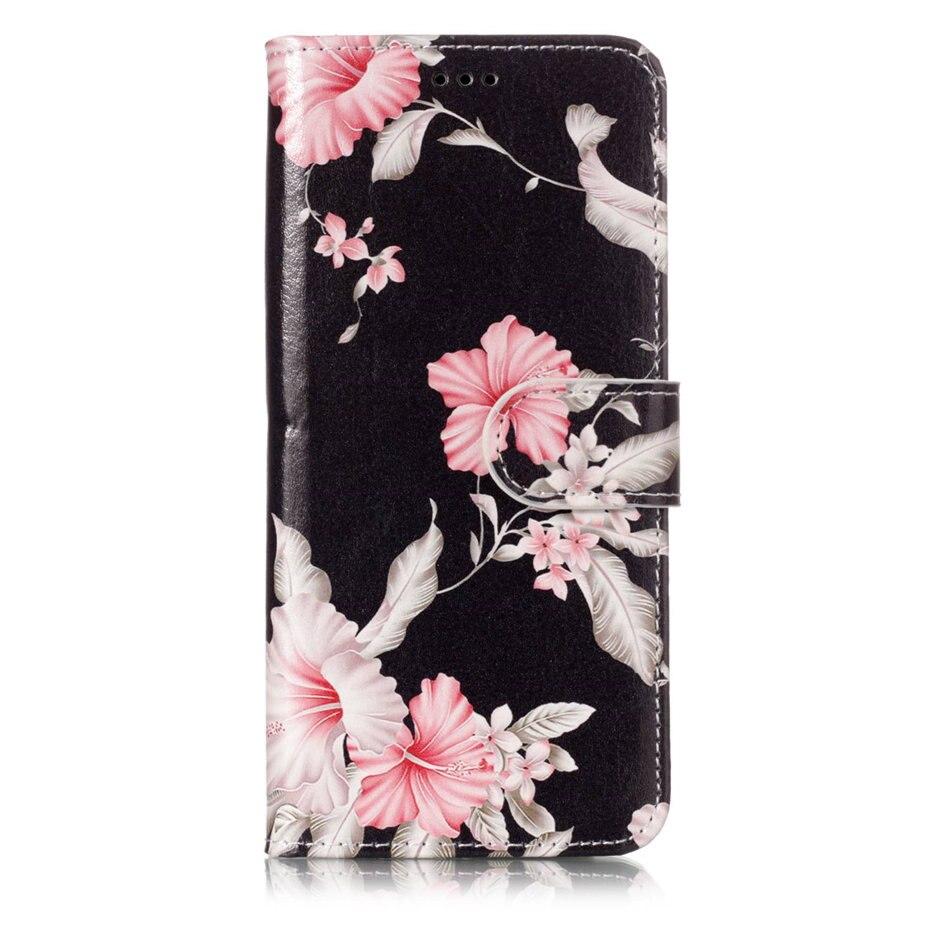 Кожаный чехол с милым рисунком для Samsung Galaxy S9 S8 Plus S7 S6 Edge S5 j3 j5 j7 2017 2016 2015 Note 9 8, откидной Чехол DP01G