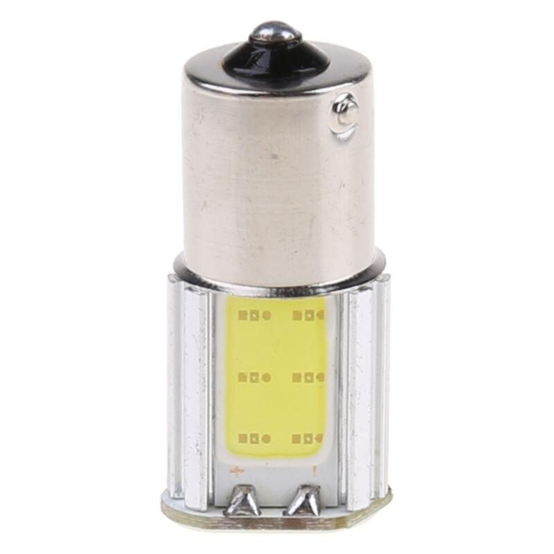Estilo de coche blanco 1156 G18 Ba15s 4COB LED intermitente luz trasera bombilla de coche 12V