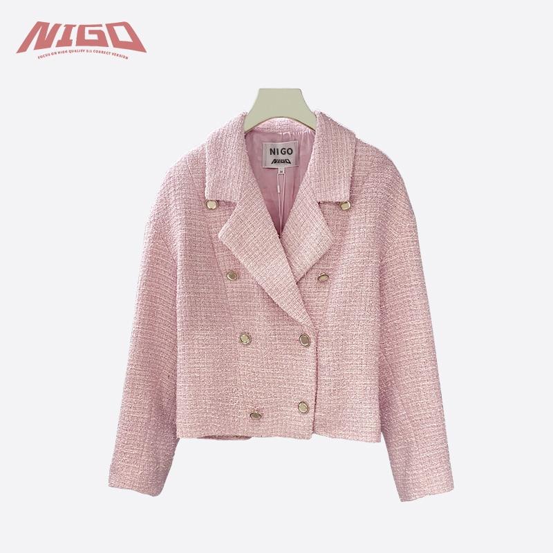 NIGO 21ss Tweed jacket Code@C5