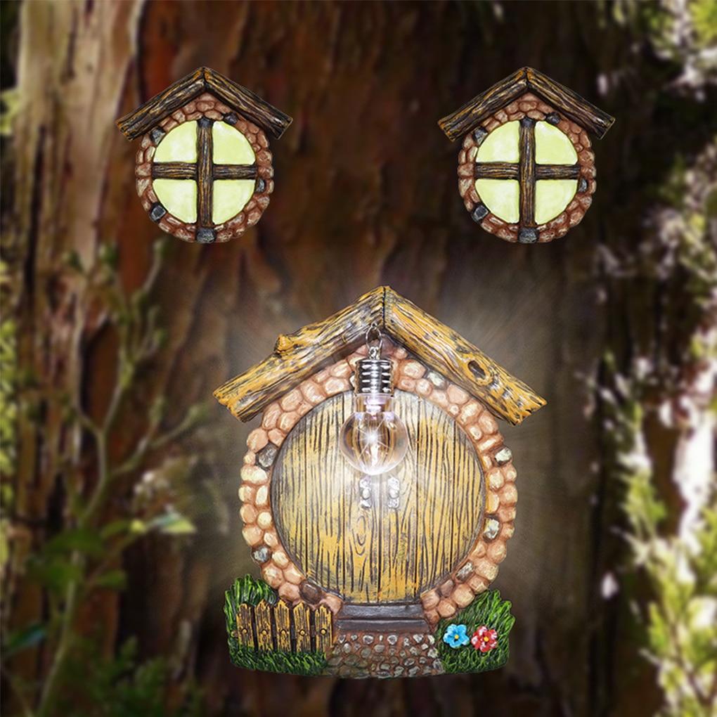 Фото - Hanging Window Pendant Lamp Garden Decoration Accessories Resin Yard Art Tree Light Garden Ornaments Outdoor For Home Wall Door doughty l apple tree yard