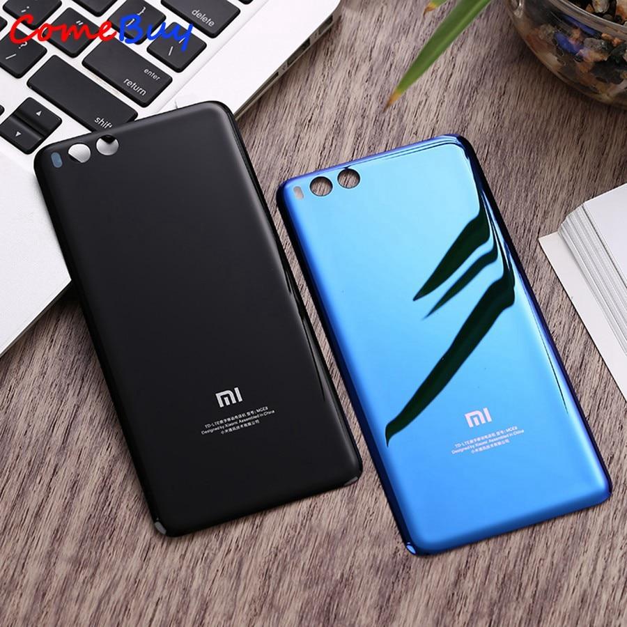 For Xiaomi Mi6 Battery Cover Mi 6 Rear Glass Door Housing Replacement For Xiaomi Mi6 Battery Cover B
