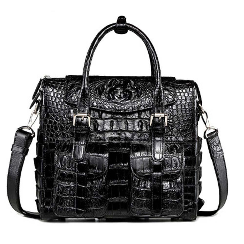 xingmengda handbag  male  crocodile bag new  business  men bag  trend  multi-function large capacity  fashion  Men handbag