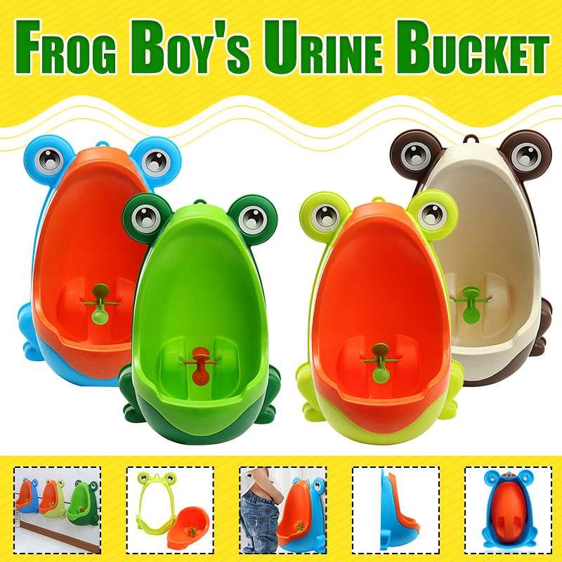 Детский Писсуар для мальчиков со стоячим писсуаром, тренажер для ванной, стильный настенный туалет для малышей, обучающий детский туалет с мультяшным рисунком