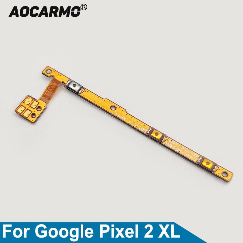 Aocarmo botón interruptor eléctrico de encendido/apagado teclas laterales de volumen Cable flexible...