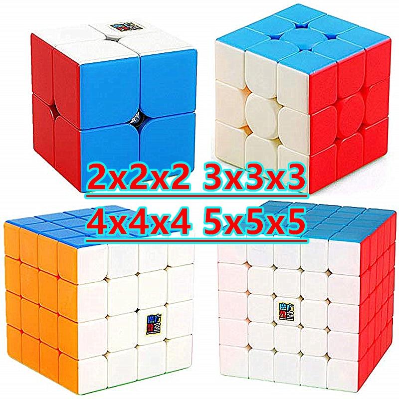 Moyu cube Meilong 2x2x2 3x3x3 4x4x4 5x5x5 Magic Cube 5x5 Speed Cube Education Toys 2x2 3x3 4x4 Puzzle cubo magico