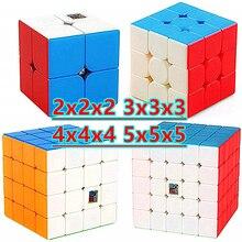 Moyu würfel Meilong 2x2x2 3x3x3 4x4x4 5x5x5 Zauberwürfel 5x5 Geschwindigkeit Cube Bildung Spielzeug 2x2 3x3 4x4 Puzzle cubo magico