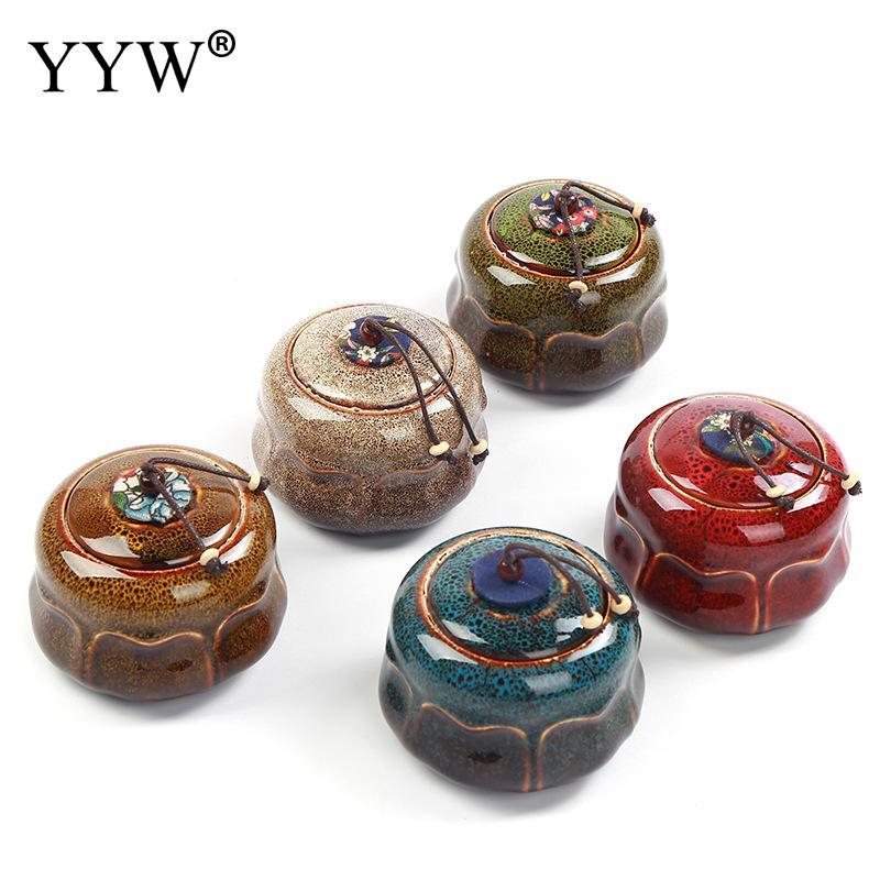 260ml Funeral Ashes Jar Urn For Human Cremation Pet Ashes Holder Ceramic Keepsake Pal Ashes Urns Casket For Urn Storage Can