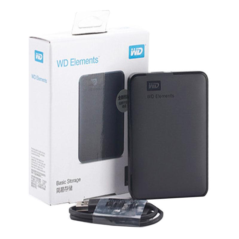 WD HDD 2.5 500GB 1 تيرا بايت 2 تيرا بايت 4 تيرا بايت 5 تيرا بايت المحمولة قرص صلب خارجي قرص صلب خارجي HD 2.5 USB ديسكو دورو Externo/Disque الدر 1TO 2T
