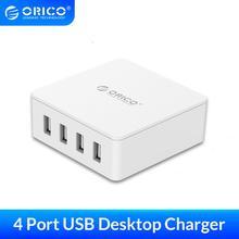 ORICO QSL-5U 5 Ports QC 2.0 5V8A40W Max De Bureau USB chargeur rapide avec LUE ou US Plug pour iPhone Samsung S6 SONY HTC