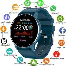 LIGE 2021 Fashion Smart Watch Ladies Heart Rate Blood Pressure Multifunctional Sport Watch Men Woman