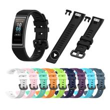 Strap For Huawei Band 4 Pro 3/3 Pro Silicone Smart Watch Wristband Replacement Strap For Huawei 3/4