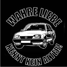 OPEL REKORD E T-Shirt TOP NEUE!!!