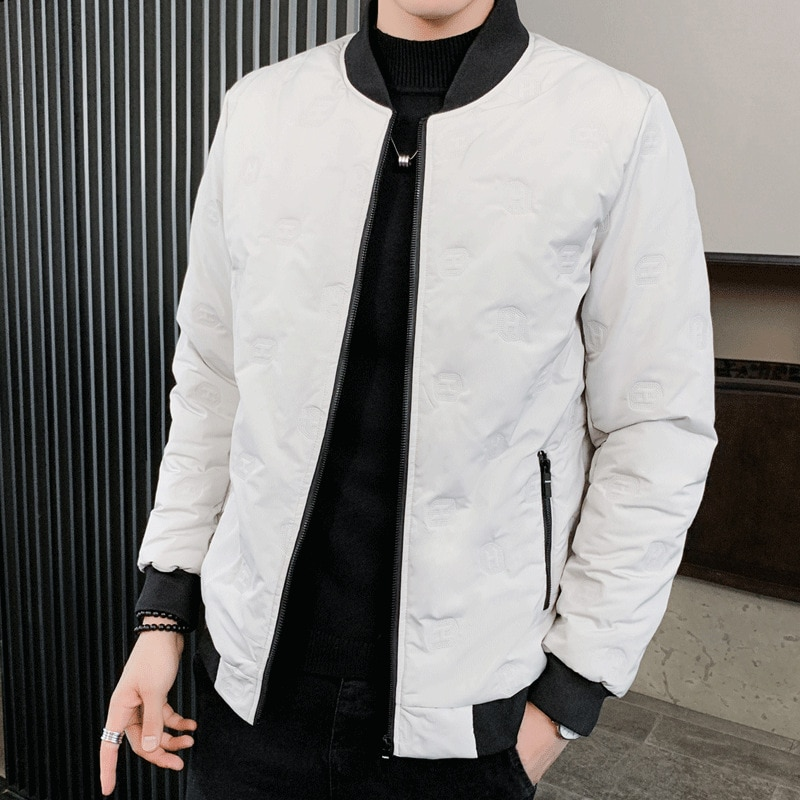 Winter Jackets Down Men's thick Warm Coat  winter Padded Oneck Jacket Men Down Coat Male Winter New Design High Qulity Plus Size