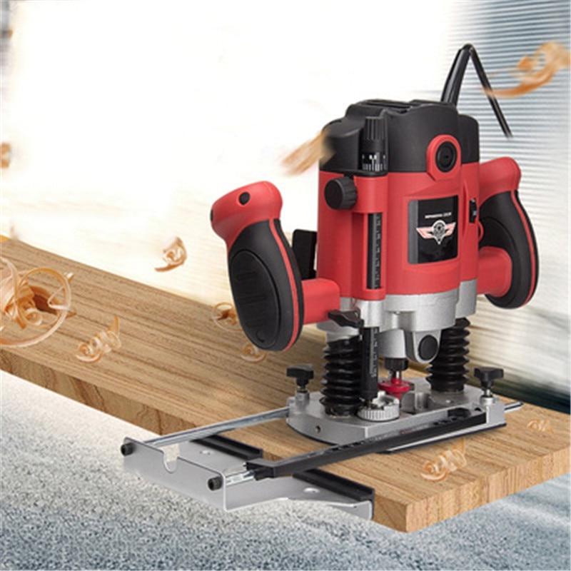 Máquina de corte de agujeros Para carpintería, herramientas de carpintería, grabado ranurado,...