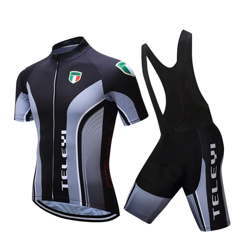 2020 conjuntos de ropa de ciclismo para hombres, juego de vestido de bicicleta de manga corta, equipo profesional, ropa de ciclismo, ropa deportiva, jersey MTB mallot