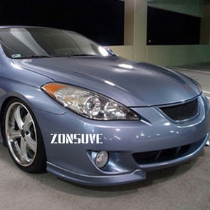 Use For Toyota Camry Solara Coupe 2004--2008  Carbon Fibre Refitt Front Center Racing Grille Cover Accessorie Body Kit Zonsuve