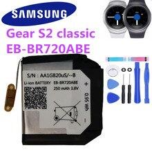 Оригинальная Аккумуляторная батарея для Samsung Gear S2 Classic EB BR720ABE R720 SM R720 R732 250 мАч Аккумуляторы для мобильных телефонов      АлиЭкспресс
