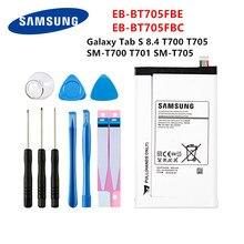 SAMSUNG original tablette EB-BT705FBE EB-BT705FBC 4900mAh batterie pour Samsung Galaxy Tab S 8.4 T700 T705 T700 T701 SM-T705 + outils