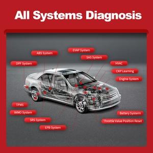 Image 3 - Thinkcar ThinkDiag полный OBD2 все системы диагностический инструмент 15 сброс сервиса актуации тест ЭБУ кодирование автомобильный считыватель кодов Сканер