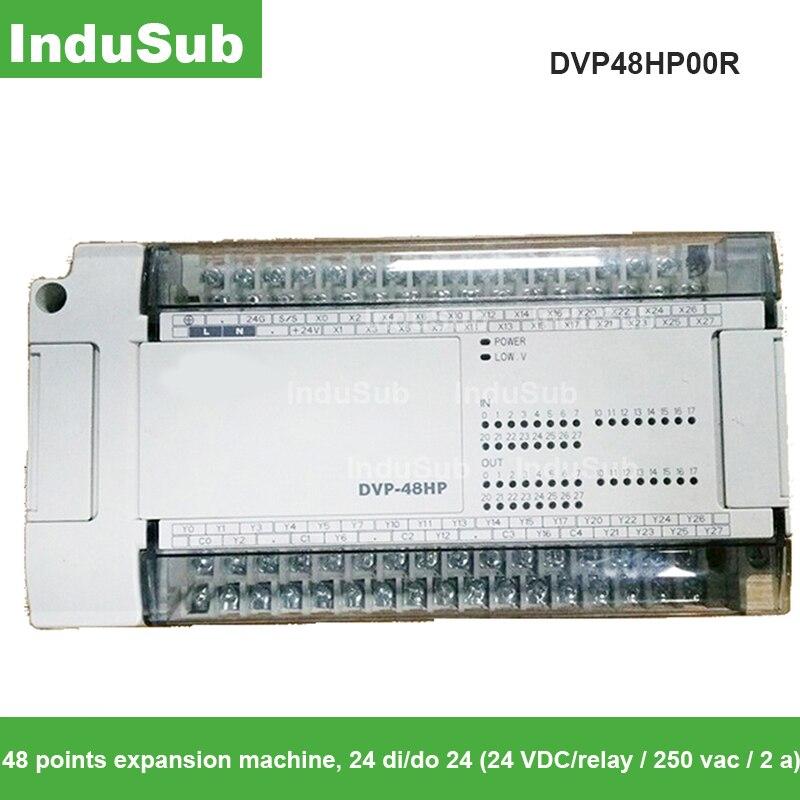 Digital do Plc de Dvp48hp00r-analógico – o 100-240vac Módulo i 24di 24do