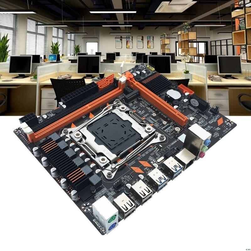 X99 DDR3 البسيطة LGA2011-3 لوحة أم للكمبيوتر المزدوج قناة الذاكرة M.2 واجهة