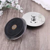 Bouchon de vidange en caoutchouc pour evier  outil en acier inoxydable pour la cuisine  la buanderie et la salle de bain