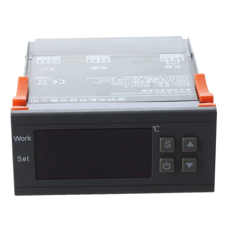 Régulateur de température numérique AC 90V-250V MH1210W sn