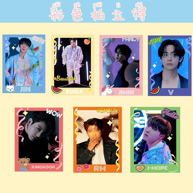 KPOP NCT Straykids Bangtan Boys Album Portable Selfies Color Photo Cards INS Wallet Cards Lomocards Lisa Rose Fans Collection