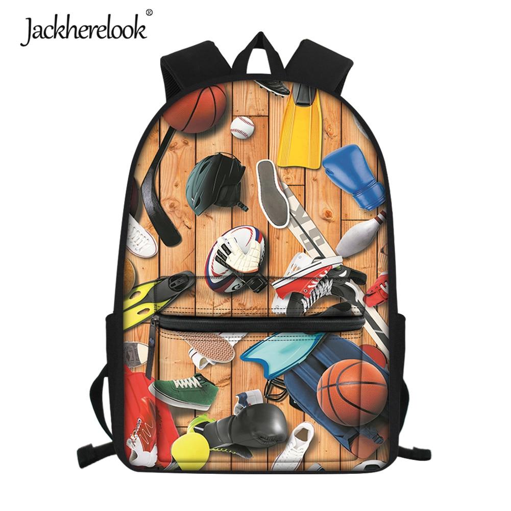 Спортивный дизайнерский классный школьный рюкзак Jackherelook для мальчика, прочный студенческий рюкзак, вместительный рюкзак для книг, ранец, ш...