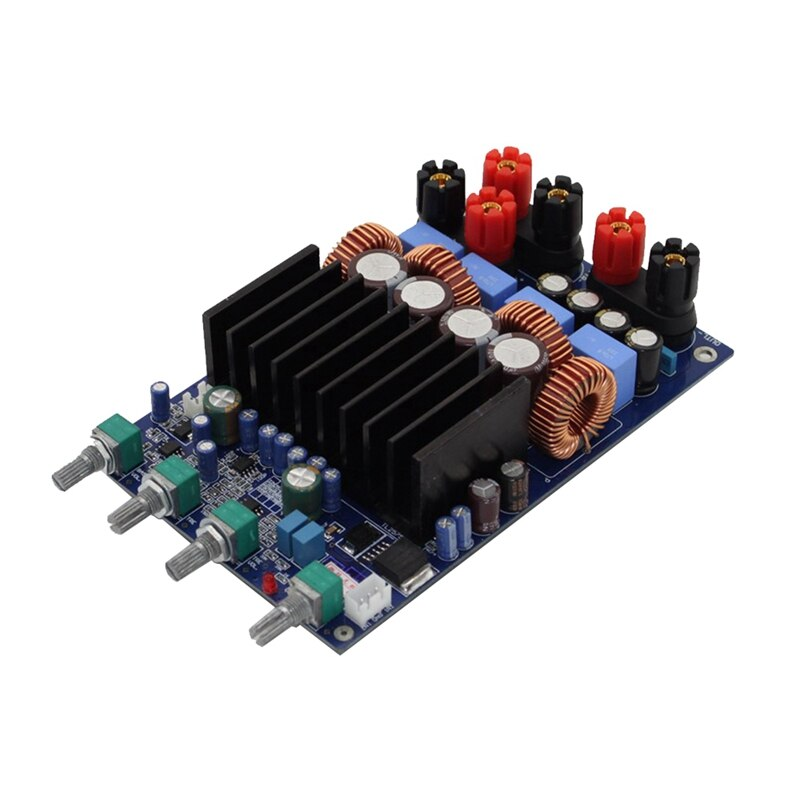 FFYY-2X150W 2.1 canais classe d placa amplificador digital diy ajustar placa de amplificador de alta potência para sistema de cinema em casa