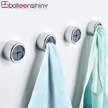 BalleenShiny 2pcs/set Creative Towel Storage Racks Hanger Adhesive Rag Dishcloth Holder Kitchen Rag Cleaning Tools Neaten Hook