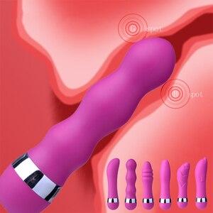 Mini Vibrator Sex Shop Dildo Anal Plug G Spot Clitoris Stimulator Prostate Massager Adult Sex Toys For Women Couples Sex Product
