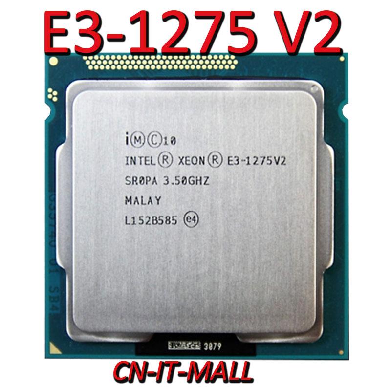 Intel xeon E3-1275 v2 cpu 3.5 ghz 8 m 4 core 8 threads lga1155 processador