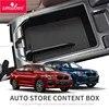 Smabee Armlehne Box Lagerung Box für BMW X3 X4 2018 2019 2020 G01 Zubehör Auto Organizer Zentrale konsole Verstauen Aufräumen box