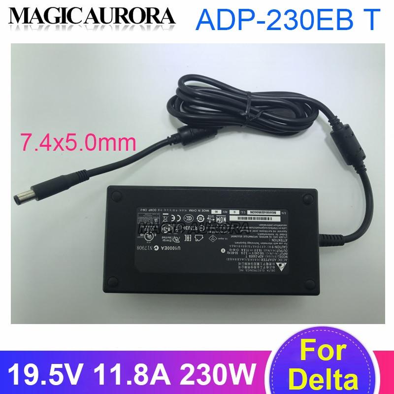حقيقية دلتا 19.5V 11.8A 230W AC محول شاحن ADP-230EB T ل MSI P170M GT72 GT72S GL75 GE73 GT70 16F4 G750 الألعاب المحمول
