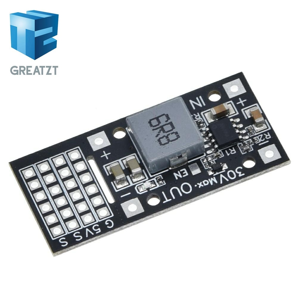 GREATZT 5V 5A Servo  Driver Step-down Module SY8205/MP2482 6 channel Servo Power Driver Board For Arduino Raspberry Pi
