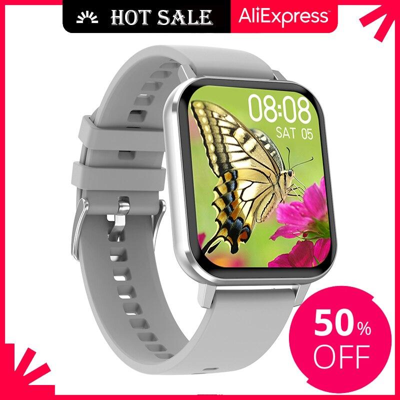 Ipbzhe-Reloj Inteligente para hombre y mujer, pulsera con Android 2021, presión arterial,...